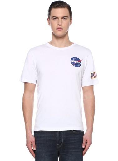 Alpha Industries Tişört Beyaz